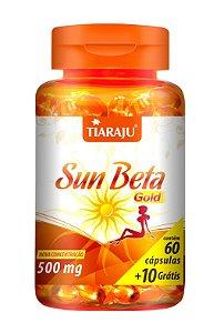 Sun Beta Gold - 60+10 cápsulas - Tiaraju