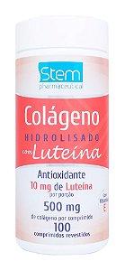 Colágeno com Luteína - 100 comprimidos - Stem Pharmaceutical