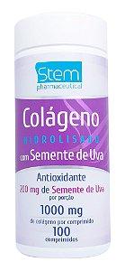 Colágeno com Semente de Uva - 100 comprimidos - Stem Pharmaceutical