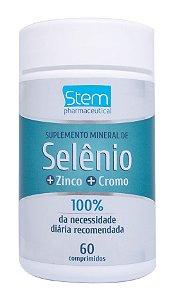 Selênio - 60 comprimidos - Stem Pharmaceutical