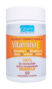 Vitamina E - 60 comprimidos - Stem Pharmaceutical
