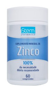 Zinco - 60 comprimidos - Stem Pharmaceutical
