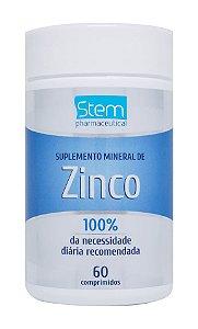 Zinco - 60 comprimidos - Stem Pharmaceutical