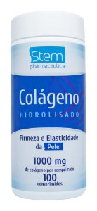 Colágeno Hidrolisado 1000mg - 100 comprimidos - Stem Pharmaceutical