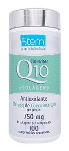 Coenzima Q10 + Colágeno - 100 comprimidos - Stem Pharmaceutical