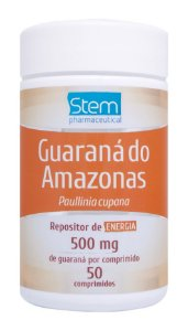 Guaraná do Amazonas - 50 comprimidos - Stem Pharmaceutical