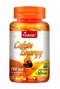 Cafein Energy - 60+10 cápsulas - Tiaraju