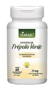 Extrato de Própolis Verde - 60 cápsulas - Tiaraju