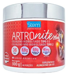 ARTROnite Plus - 300g - Baunilha - Stem Pharmaceutical