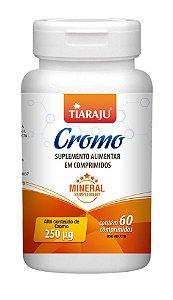 Cromo 250 mcg - 60 comprimidos - Tiaraju