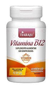 Vitamina B12 9,94 mcg - 60 comprimidos - Tiaraju