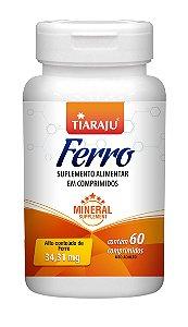 Ferro 34,31 mg - 60 comprimidos - Tiaraju