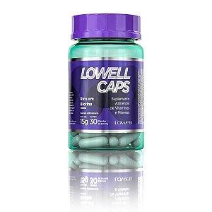 Lowell Caps - Crescimento Capilar - 30 cápsulas