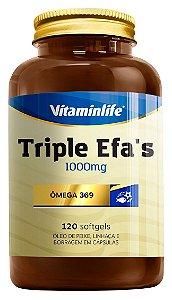 Triple EFA's - 120 cápsulas - Vitaminlife