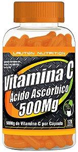 Vitamina C 500mg - 120 cápsulas - Lauton Nutrition