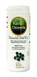 Chlorella Pyrenoidosa - 450 comprimidos - KenBi