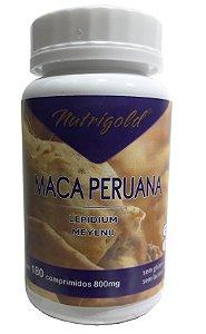 Maca Peruana - 180 comprimidos - Nutrigold
