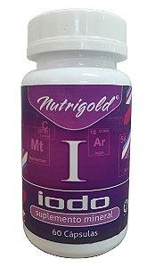 Iodo - 60 cápsulas - Nutrigold