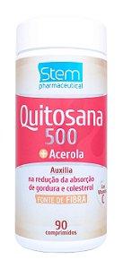 Quitosana 500 + Acerola - 90 comprimidos - Stem Pharmaceutical