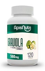 Graviola - 120 cápsulas - Apisnutri