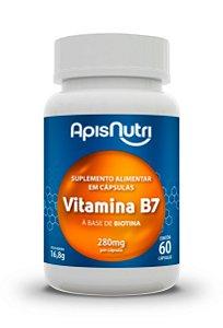 Vitamina B7 - 60 cápsulas - Apisnutri