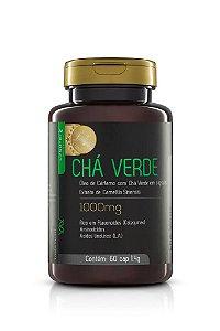 Chá Verde com Óleo de Cártamo - 60 cápsulas - Upnutri