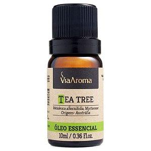 Óleo Essencial Tea Tree (Melaleuca) - 10ml - Via Aroma