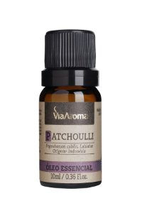 Óleo Essencial Patchoulli - 10ml - Via Aroma