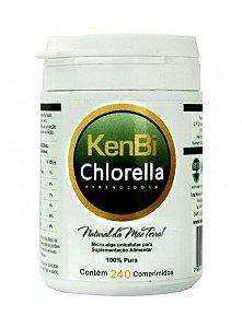 Chlorella Pyrenoidosa - 240 comprimidos - KenBi