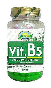 Vit B5 Ácido Pantotênico - 60 cápsulas - Nutrigold