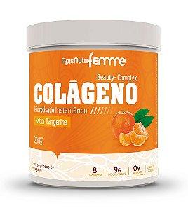 Colágeno Beauty-Complex - 200g - Tangerina - Apisnutri