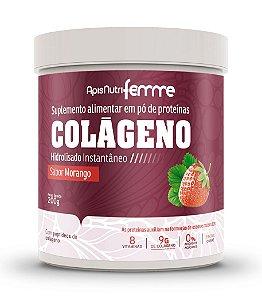 Colágeno Beauty-Complex - 200g - Morango - Apisnutri