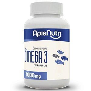 Ômega 3 Óleo de Peixe 1000mg - 240 cápsulas - Apisnutri