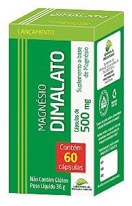 Magnésio Dimalato - 60 cápsulas - Medinal