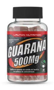 Guaraná 500mg - 120 cápsulas - Lauton Nutrition