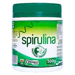 Spirulina Orgânica em Pó - 500g - Fazenda Tamanduá