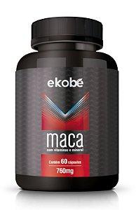 Maca com Vitaminas e Zinco - 60 cápsulas - Ekobé