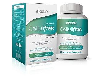 Cellulifree Anti Celulite - 60 cápsulas - Ekobé