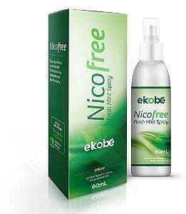 Nicofree Spray Antitabagismo - 60ml - Menta - Ekobé