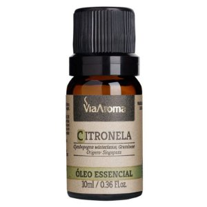 Óleo Essencial Citronela - 10ml - Via Aroma