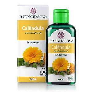 Extrato Oleoso de Calêndula - 60ml - Phytoterápica