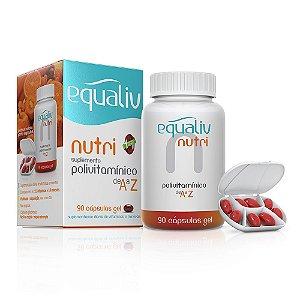 Nutri Polivitamínico A-Z - 90 cápsulas - Equaliv