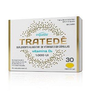 Tratedê Vitamina D3 1000UI - 30 cápsulas - Equaliv