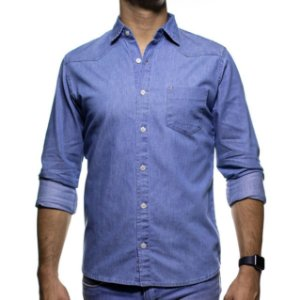 Camisa Social Urbô Jeans Casual Fit