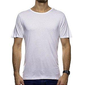 Camiseta Malha Sergio K Branca Lisa