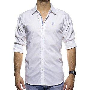 Camisa Social Sergio K Branca Slim Fit