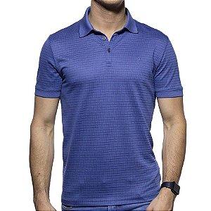 Camisa Polo VR Algodão Pima Azul