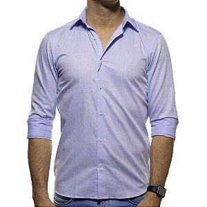 Camisa Social VR Azul Claro Casual Fit