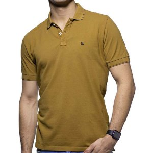 Camisa Polo Piquet Foxton Bege