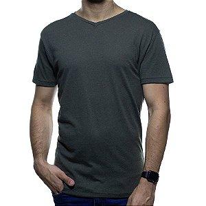 Camiseta de Malha Foxton Gola V